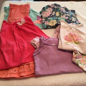 5 size 18 months girls cute outfits dress shorts